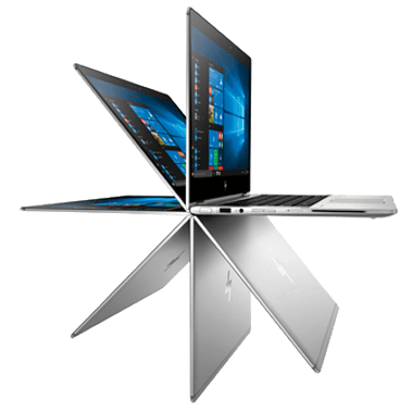 HP EliteBook x360 mit Microsoft Technologien