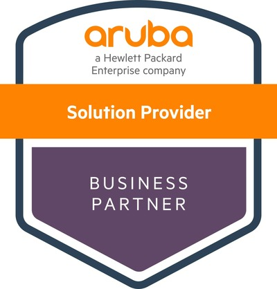 Aruba Solution Provider Business Partner Zertifikat