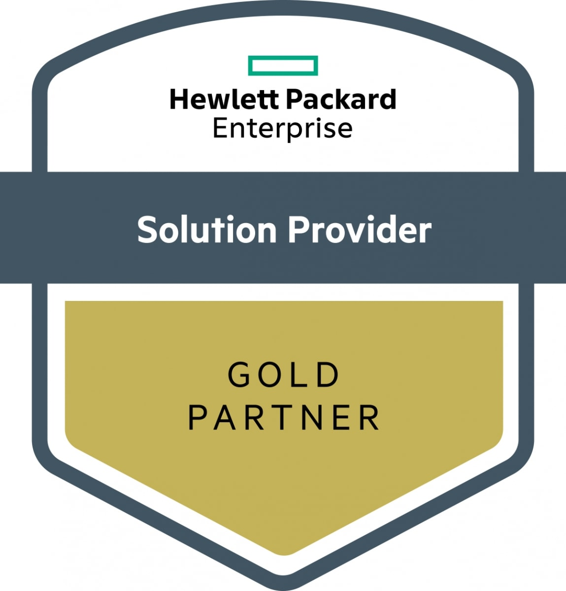 HPE Solution Provider Gold Partner Zertifikat