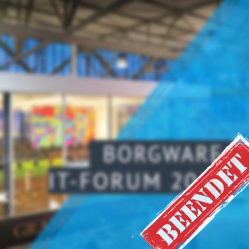 BORGWARE IT-Forum 2019